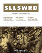 SLLSWRD Zine #1 - Play Aid for #ZweihanderRPG