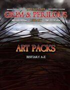 Art Pack (Bestiary A-Z) #GrimAndPerilous