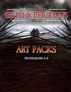 Art Pack (Professions A-Z) #GrimAndPerilous