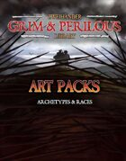 Art Pack (Archetypes and Races) #GrimAndPerilous