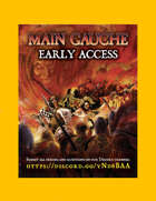 MAIN GAUCHE - Early Access for ZWEIHÄNDER Grim & Perilous RPG