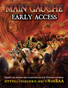 MAIN GAUCHE Grim & Perilous Supplement - Early Access (Powered by ZWEIHANDER)
