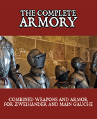 The Complete Armory - Play Aid for Zweihander RPG