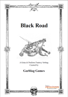 Black Road - Campaign for Zweihander RPG