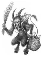 Krampus Holiday Monster - Zweihänder Grim and Perilous RPG