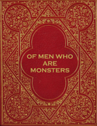 Of Men Who Are Monsters - Adventure for Zweihander RPG