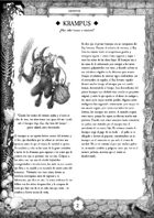 Krampus Spanish (ES) - Supplement for #ZweihanderRPG
