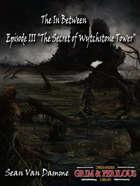 The In Between Part III The Secret of Wytchstone Tower - Adventure for Zweihander RPG