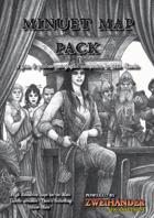 Minuet Map Pack - Play Aid for Zweihander RPG