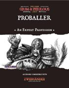 Proballer - Profession for Zweihander RPG