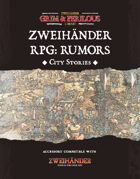 Zweihander RPG: Rumors - Accessory for Zweihander RPG