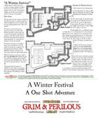 A Winter Festival One Page Adventure.