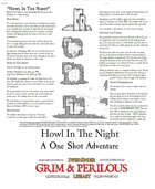 Temple of Greed One Page Adventure.