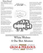 White Wolves One Page Adventure.