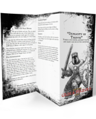 Duplicity of Thieves One Page Adventure.