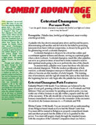 Combat Advantage #8: The Celestial Champion