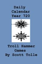 9252 Calendar daily year 720