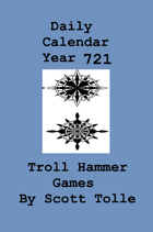 9253 Calendar daily year 721