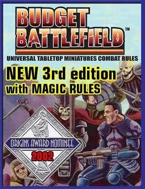 Budget Battlefield Universal Miniatures Rules