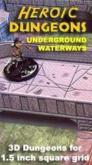 Heroic Dungeons Underground Waterways Expansion Set