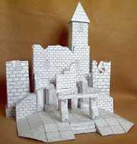 Vyllage-on-the-Cheep Castle Ruins