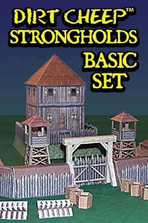 DIRT CHEEP STRONGHOLDS Earthworks Basic Set