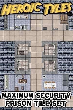 Heroic Tyles Maximum Security Prison Set