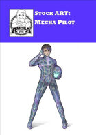Stock Art: Mecha Pilot