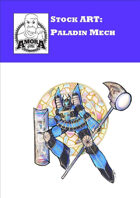 Stock Art: Paladin Mecha