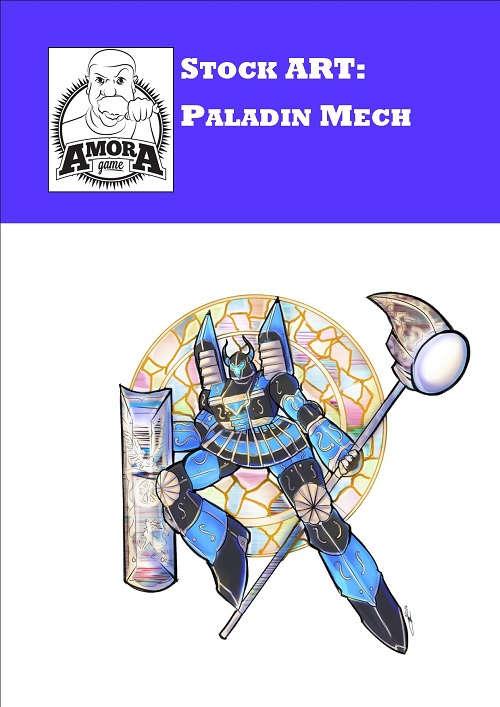 Stock Art: Paladin Mecha