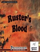 Ruster's Blood