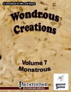 Wondrous Creations 7: Monstrous