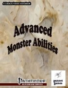 Advanced Monster Abilities