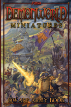 Demonworld Miniatures Dwarf Army Book