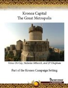 Kronea Capital: The Great Metropolis
