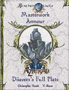 Masterwork Armour: Diiavem's Full Plate