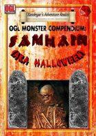 OGL Monster Compendium: Samhain (Halloween)