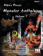 Khan's Press: Monster Anthology Volume 1