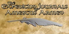 The Expedition Journals of Amestus Armen