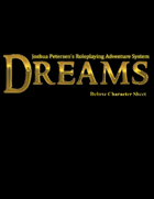 Dreams - Deluxe Character Sheet