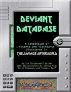Deviant Database