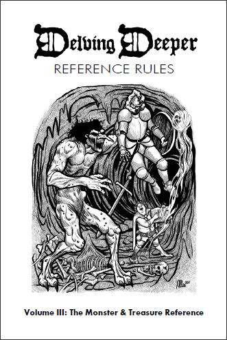Delving Deeper Ref Rules v2: The Monster & Treasure Reference