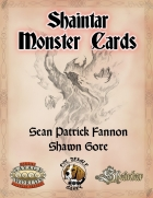 Shaintar Monster Cards