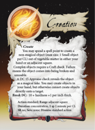 Ultimate Spheres Cards: Creation