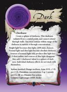 Ultimate Spheres Cards: Dark