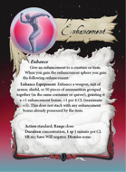 Ultimate Spheres Cards: Enhancement