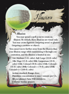 Ultimate Spheres Cards: Illusion