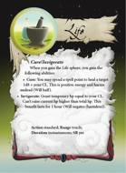 Ultimate Spheres Cards: Life