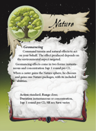 Ultimate Spheres Cards: Nature