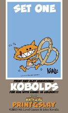 Kobolds Print and Slay Miniatures (Set One)